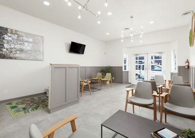Moncton Dental Interior Waiting Area